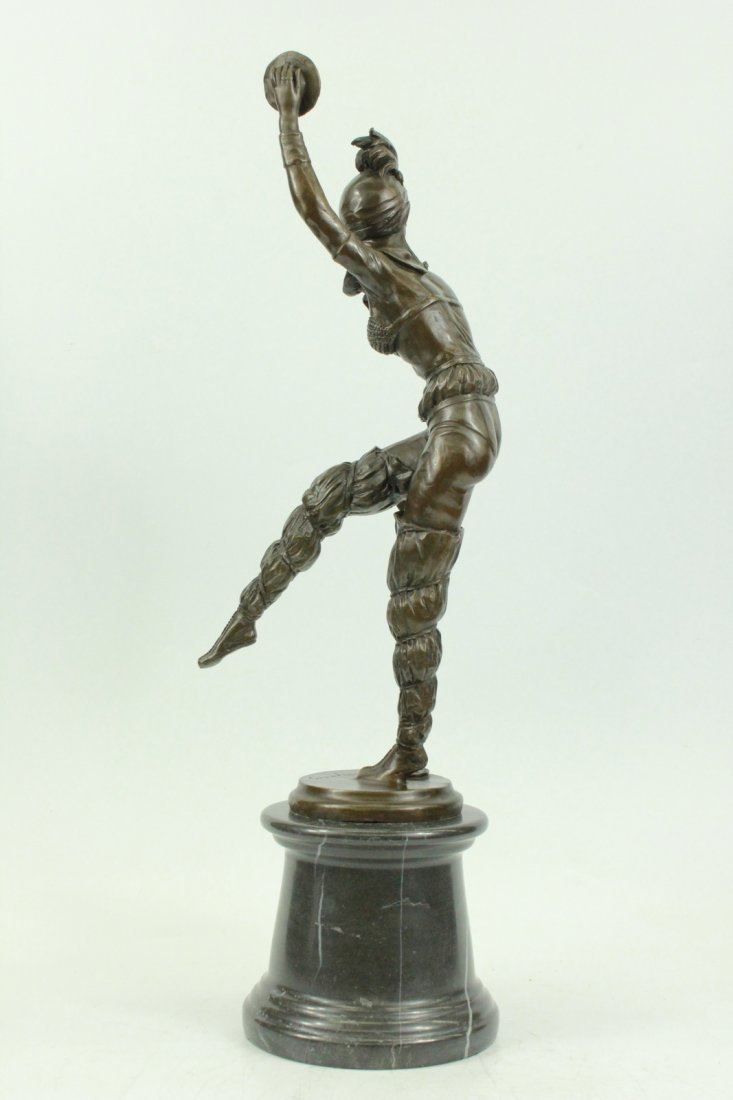 bronze on marble, Dancing to Music - 2