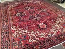 Vintage Persian Heriz Carpet