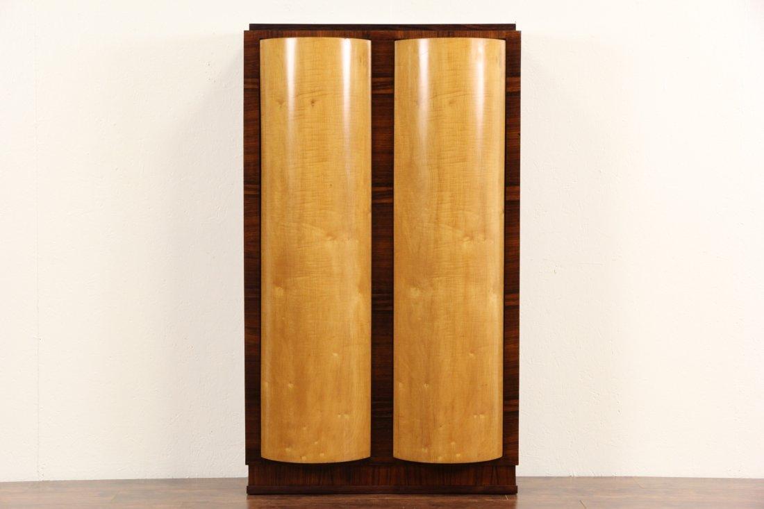 Italian Rosewood Art Deco 1930's Vintage 36 Slot