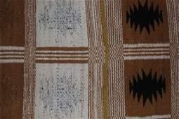Rare 1970's Two Faced Navajo Rug