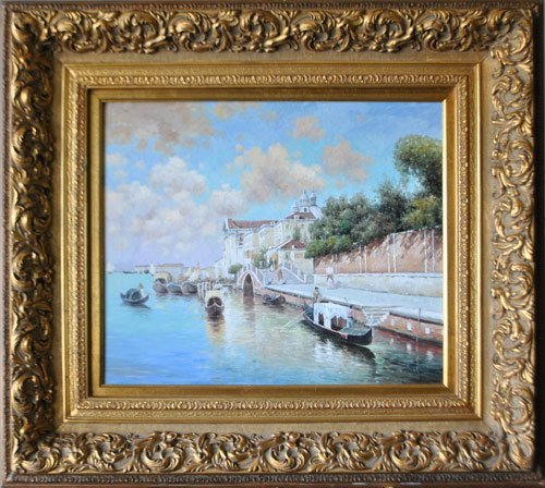 BEAUTIFUL 20TH CENTURY ORIGINAL OIL ON CANVAS