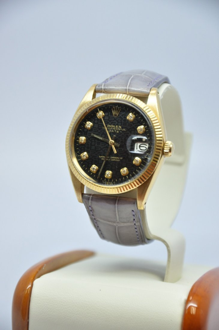 Vintage Rolex Oyster Perpetual Date Men,This is a very
