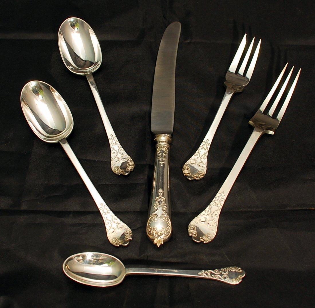 CJ VANDER sterling silver flatware set