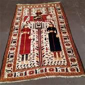 Antique Persian Belouchi Rug