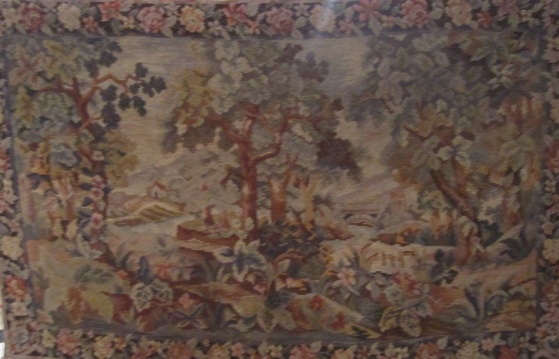 19th c. French Needlepoint