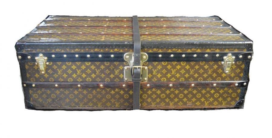 Authentic Louis Vuitton Monogram Half Trunk C1920s
