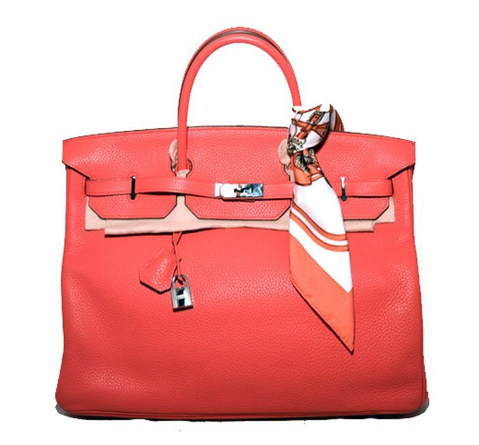 Hermes Bougainvillea Clemence 40cm Birkin Bag- Rare