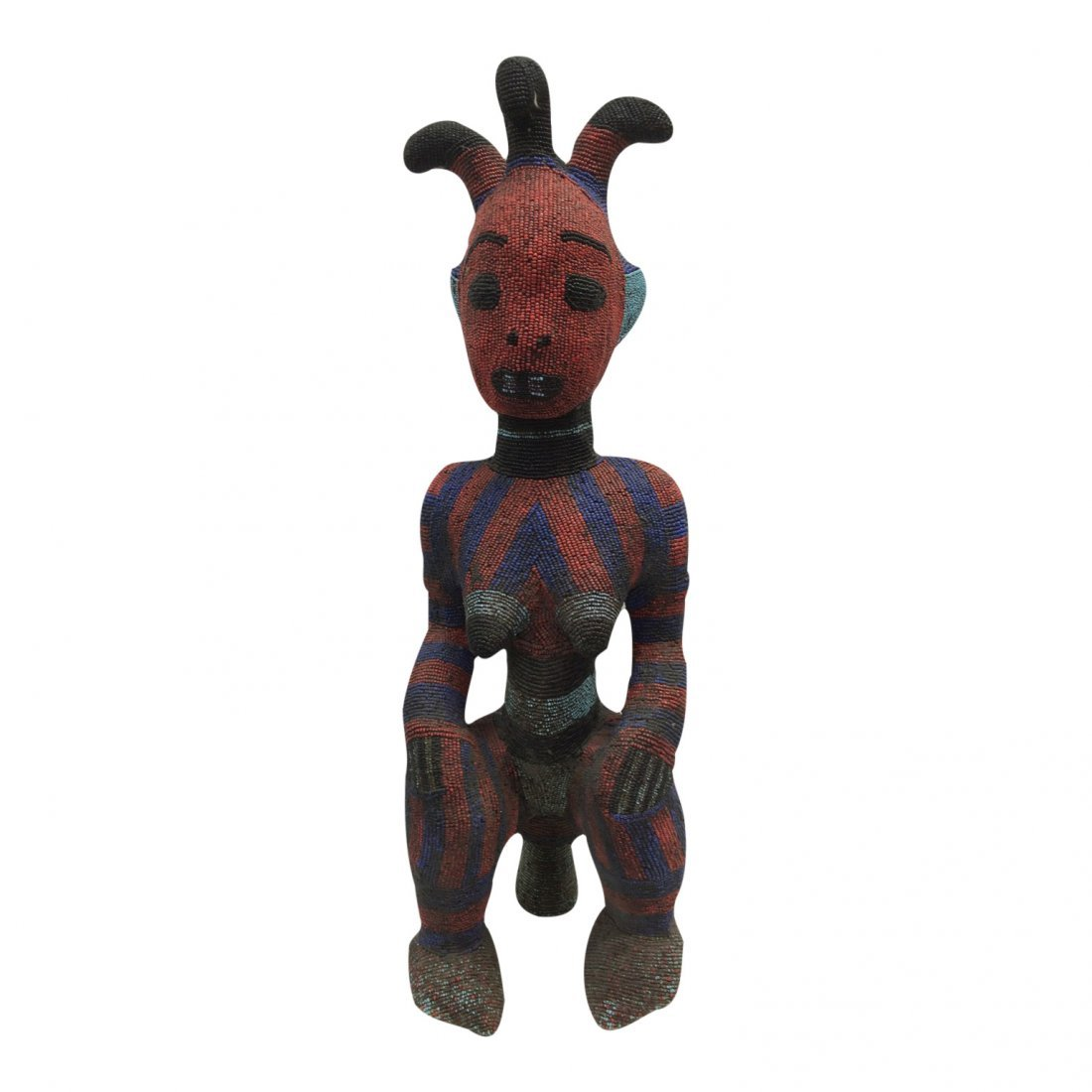 Large Beaded Statue