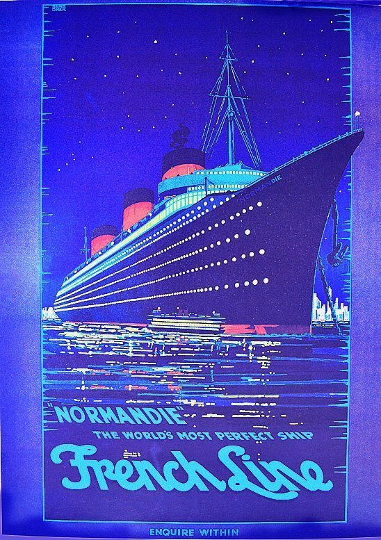 Herkomer Normandie - the World's Most Perfect Ship 1997