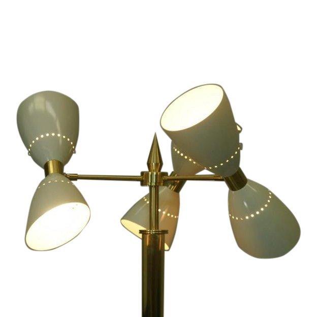 Totally Restored Italian Mid-Century Floor Lamp