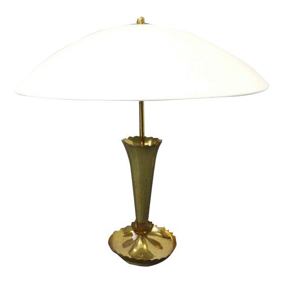 Brass Italian Vintage Table Lamp
