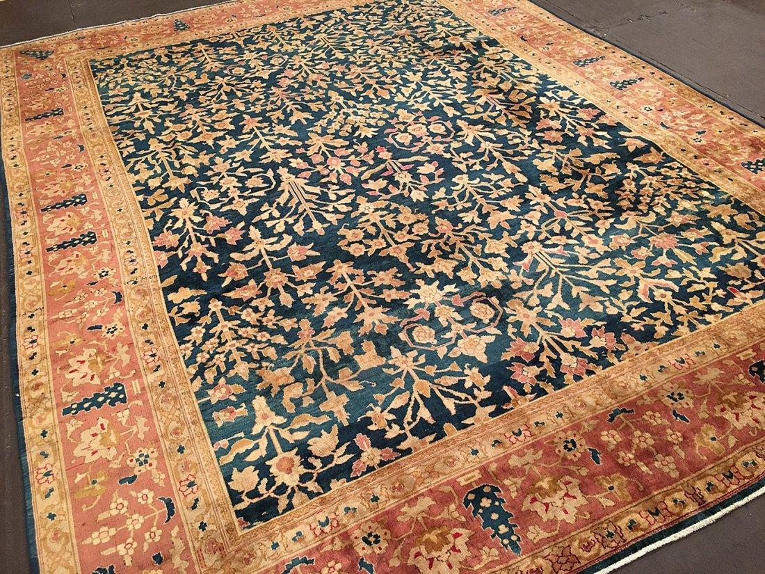 Antique Indian Angora Carpet
