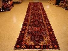 Wide Long 18 Feet Long Vintage Persian Seneh Runner