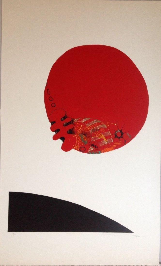 TAEKO TAKABE (1941-) Color Etching