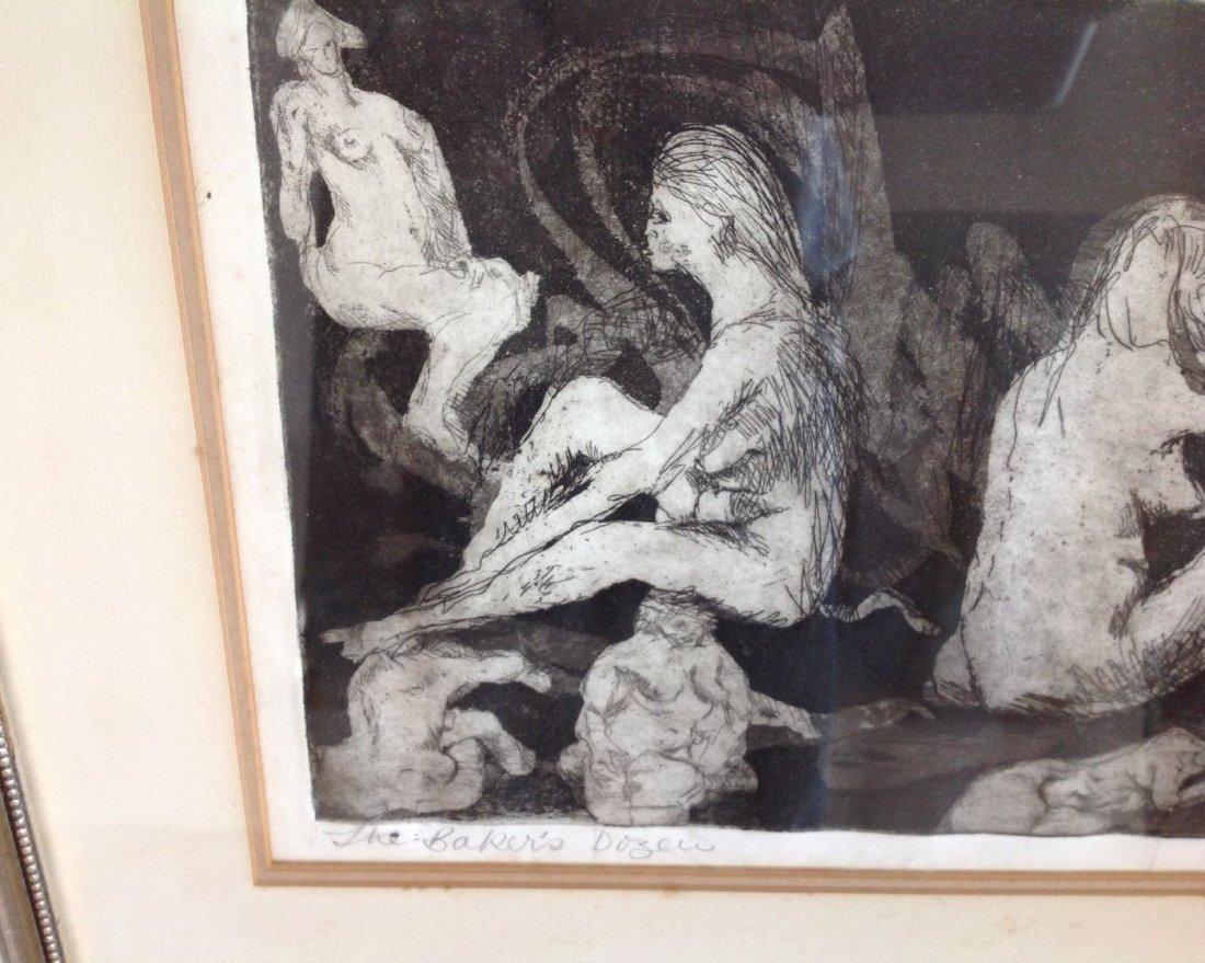 "Anita Klebanoff - ""The Bakers Dozen"" 1/30 Nude - Rare - 3"