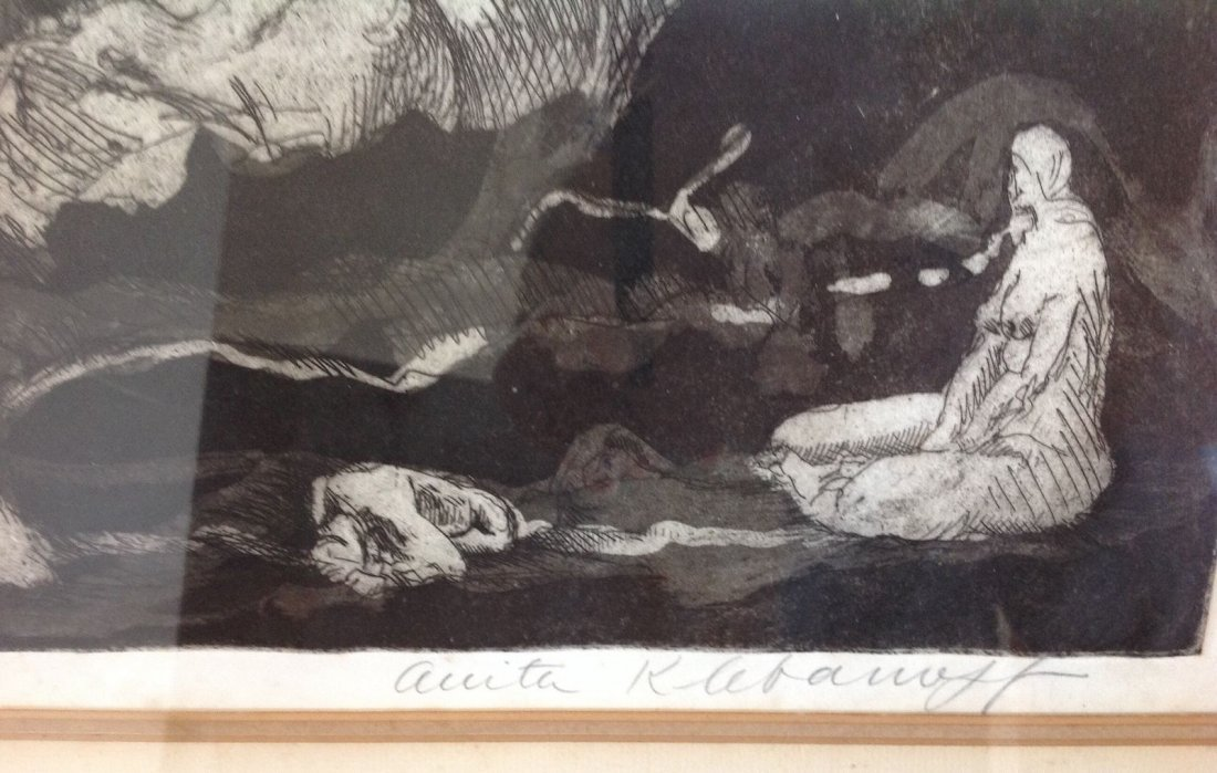 "Anita Klebanoff - ""The Bakers Dozen"" 1/30 Nude - Rare - 4"