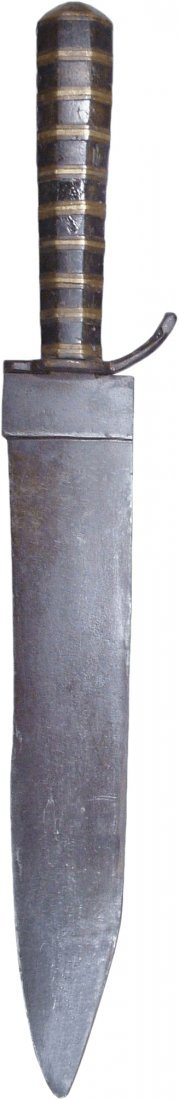 A SPANISH SOUTHWEST FIGHTING KNIFE C.1800