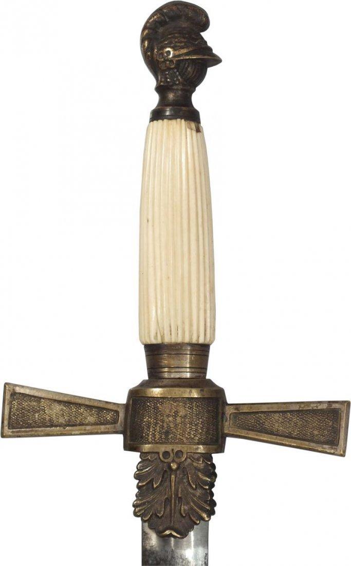 U.S. MILITIA NCO SWORD, C.1840-50