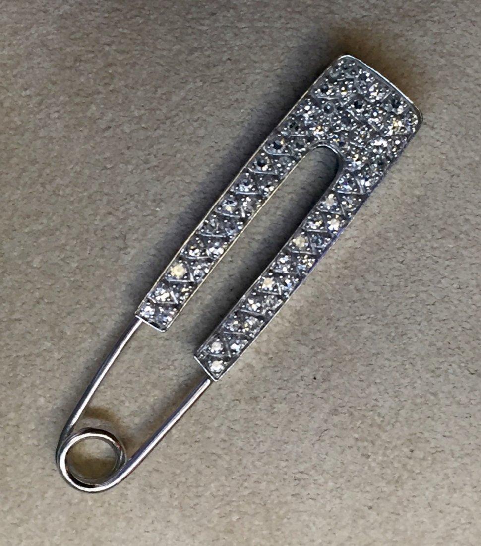 18k safety pin
