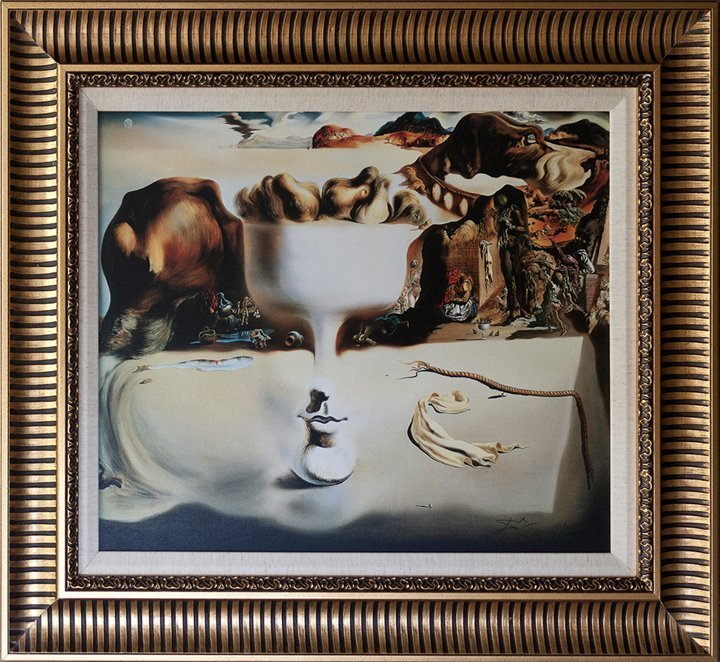 Salvador Dali Apparition of Face Limited Edition