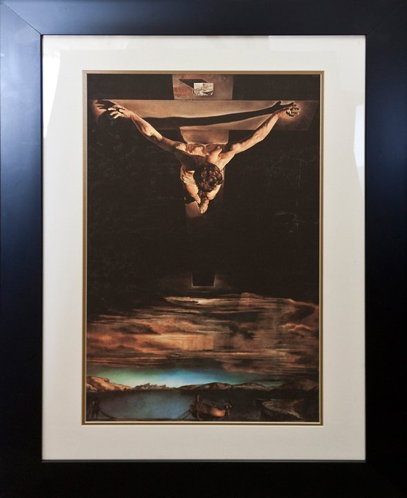 Salvador Dali Christ St John on the Cross Limited