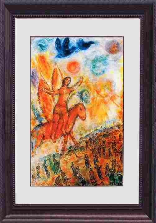 Marc Chagall-Limited Edition Lithograph -Phaeton