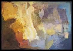 Abstract Michael Schofield Original Oil