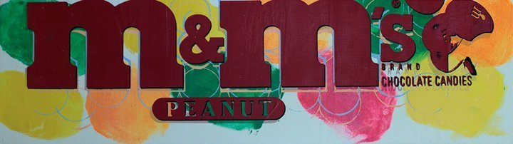 M&Ms by Stephen Kaufman Limited Edition Serigraph Hand