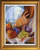 Arina Original Still Life Oil on Canvas