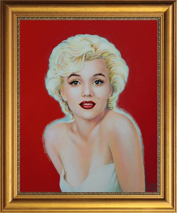 Marilyn Monroe Original on canvas by Katherine Arion