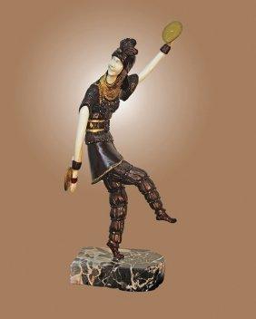 Chiparus Bronze Sculpture Russian Dancer