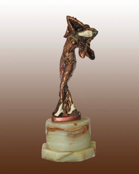 Chiparus Bronze Sculpture - Favourite