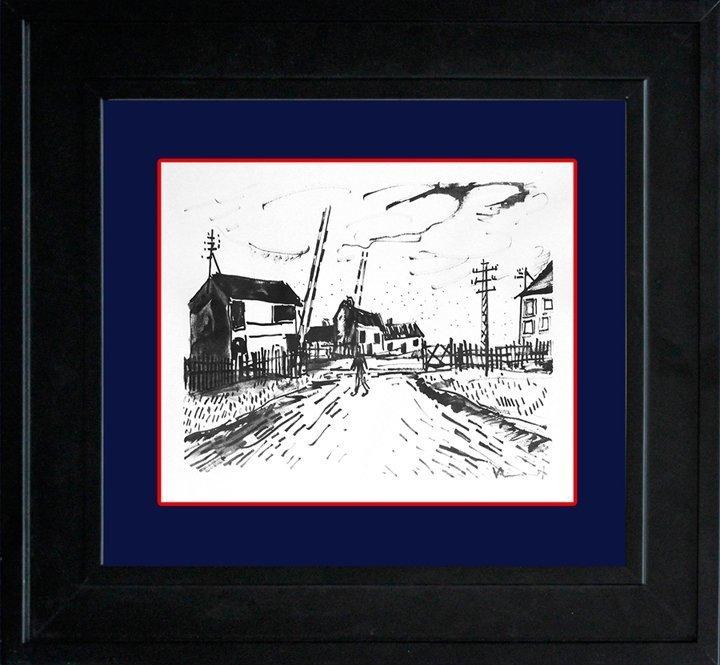 Vlaminck Le Passage a Niveau Limited Edition Original