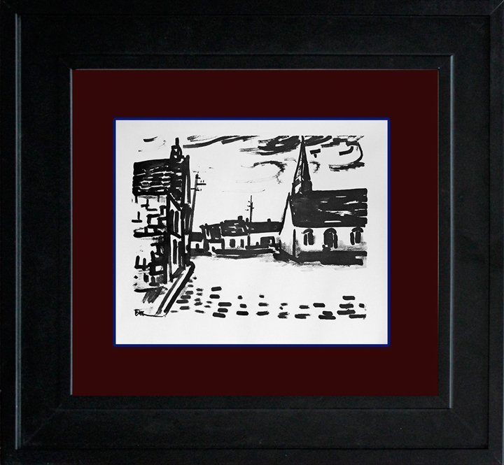 Vlaminck Place de L'Elgise Limited Edition Original