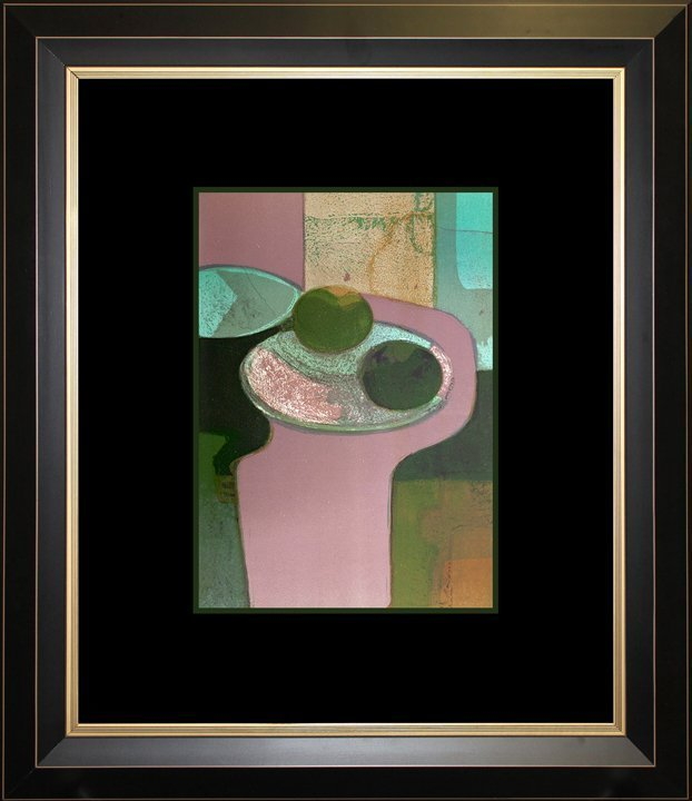 Andre Minaux, Fruit Still Life, Original Lithograph