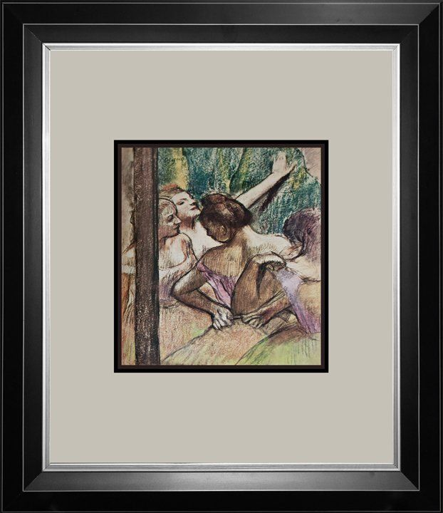 Edgar Degas Color Plate lithograph over 50 years old