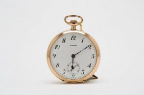 1920s 14kt Gold Howard Pocket Watch