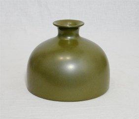 Chinese Teadust Porcelain Brush Washer With Mark