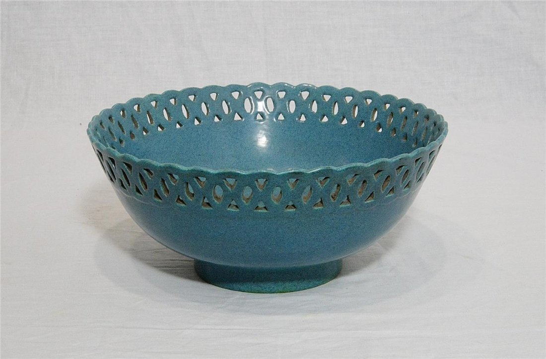 Chinese Lu-Jun Glaze Porcelain Bowl With Mark