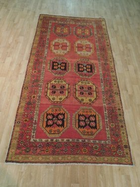 "Semi Antique 7'.6""x4'.11"" Russian Kazak Rug"