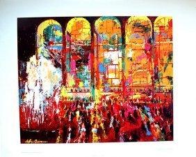 """Leroy Neiman - """"opera House"""""""