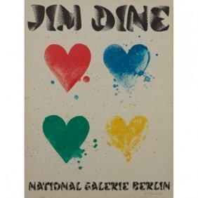 Jim Dine Hearts (b. 1935) National Galerie Berlin 1971