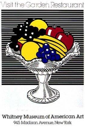Lichtenstein Still Life With Christal Bowl