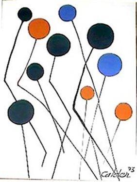 Calder Balloons 1973