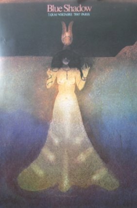 Milton Glaser Bleu Shadow