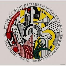 Lichtenstein, Roy Guggenheim Museum Original Serigraph