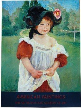 Mary Cassatt - Spring, Margot Standing In A Garden