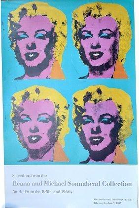 "Andy Warhol Marilyn Monroe ""marilyn 1962""prinston 19"