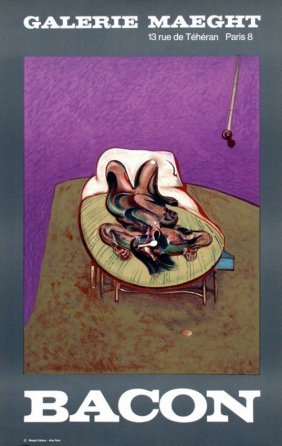 Francis Bacon (english, 1909 - 1992).: Galerie Maeght