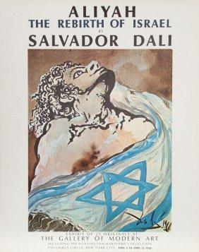 "Salvador Dali, Spanish ""aliyah, Israel Rare Vintage"
